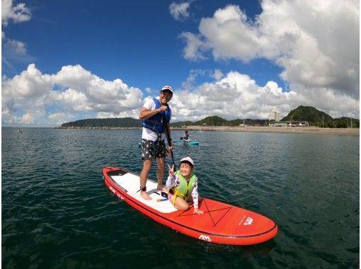 【千葉・南房総】「地域共通クーポン利用可能プラン」親子で感じる海のうえ時間♪安心安全*親子相乗りの紹介画像