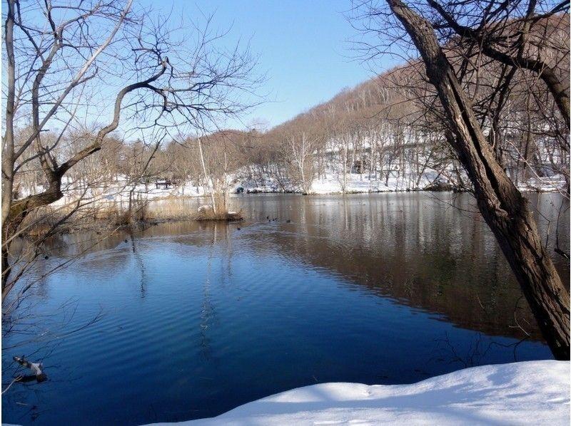 [Hokkaido Furano] snowshoe experience, bird swamp park walking tour introduces image of (half-day course)