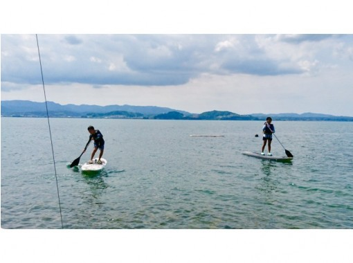 【熊本県・天草市】海遊びしようぜ!満足の50分!SUP or カヤックでの天草の海クルーズコース