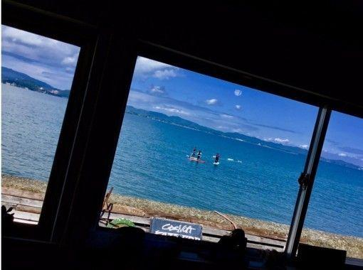 【熊本県・天草市】海遊びしようぜ!満足の50分!SUP or カヤックでの天草の海クルーズコースの紹介画像