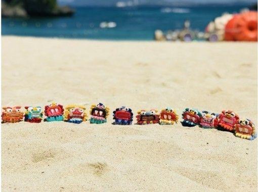 【沖縄・うるま市】大人気!!うるま市で「しっくいシーサー絵付け体験」