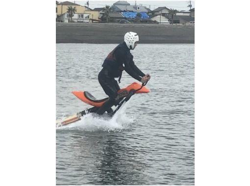 【千葉・南房総市】関東初上陸?空飛ぶバイク!「ジェットベイター」