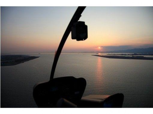 【大阪・市内】ロマン溢れるヘリコプターベイサイドクルーズ