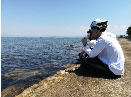 【山陰・大根島】中海の自然を満喫!ブラだいこん ぷちサイクリングツアー(90分)の紹介画像