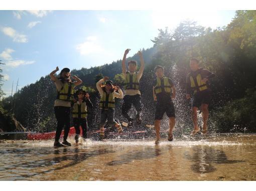 【HISスーパーサマーセール!実施中】ペットOK!奈良俣湖カヌー・半日ツアー*関東・群馬・みなかみ