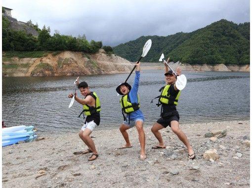 【HISスーパーサマーセール!実施中】ペットOK!奈良俣湖カヌー・半日ツアー*関東・群馬・みなかみの紹介画像
