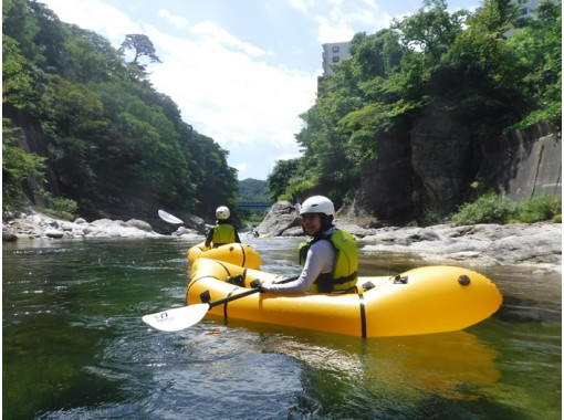 [HIS Super Summer Sale! Underway] Pack craft at the beautiful headwaters of the Tone River! Half-day introductory tour * Minakami Town, Gunma Prefectureの紹介画像