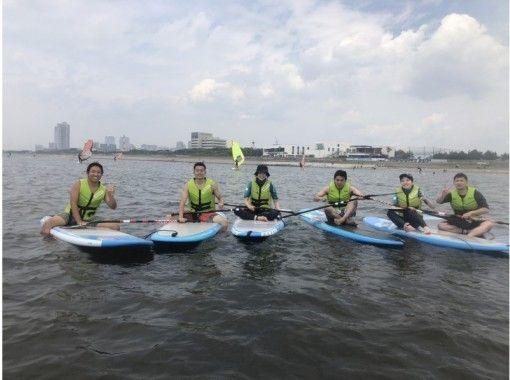 SUPレンタルコース(3時間)SUP 海上で、ヨガ・釣り・女子会まで!の紹介画像