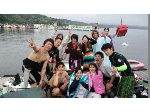 【山梨・山中湖】バナナボート★Rio de Emocion