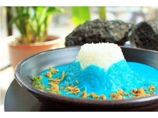 【山梨県・富士山】インスタ映え間違えなし!青い富士山カレー「Mt.Fuji Curry」を食べよう!