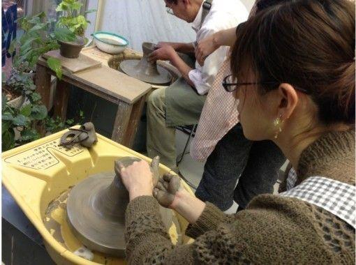 【東京・目黒】3キロの粘土を使用、作り応え満点!楽しい!電動ロクロ体験