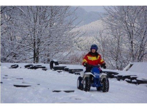 【北海道・富良野】選べるスノースポーツ!★四輪バギー・スノーカート・スノーバイク★