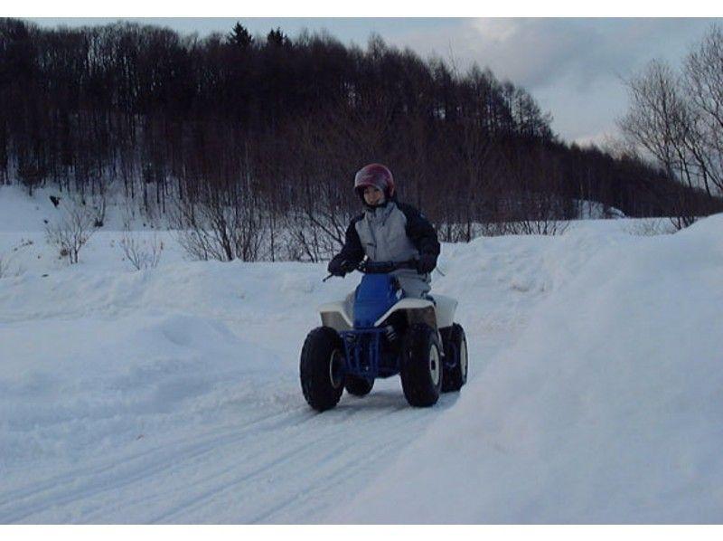 【北海道・富良野】選べるスノースポーツ!★四輪バギー・スノーカート・スノーバイク★の紹介画像