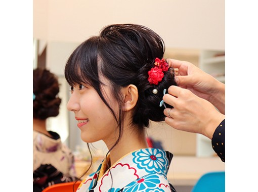 "Kyoto Gion Kimono Rental ""Standard Plan"" Empty-handed OK, free luggage storage!の紹介画像"