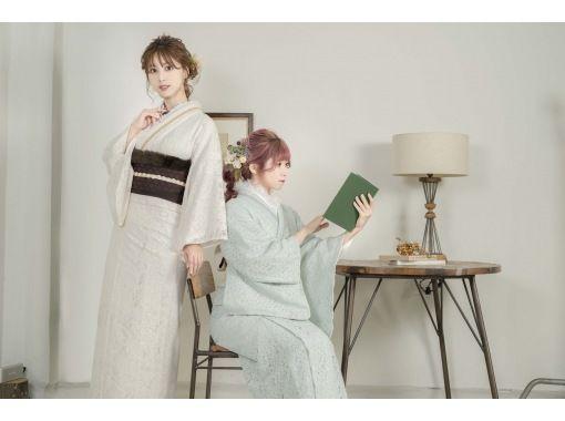 【京都/京都站】和服套装&头发套装&穿衣计划!雨天可以免费租伞♪の紹介画像