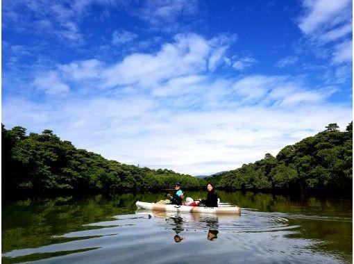【地域共通クーポン利用可】大自然をおてがるに!宮良川マングローブカヌー1.5時間ショートプラン!