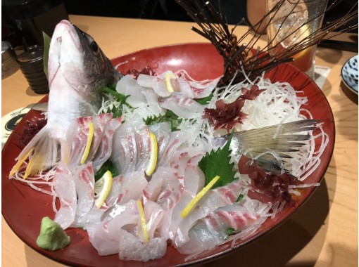 """[Tokyo / Haneda] Cheap! """"Kurodai"""" charter boat ★ Up to 6 people OK ♪ 120 minutes You can introduce a shop where you can eat the fish you caughtの紹介画像"""