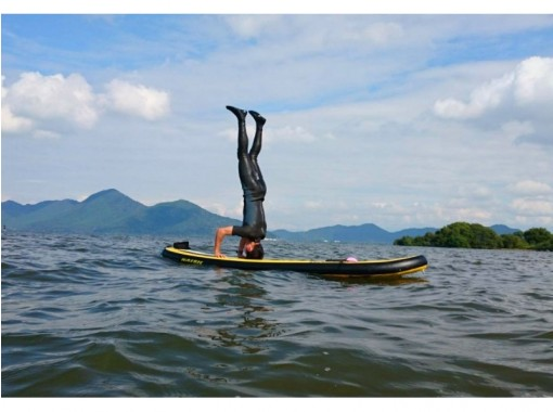 【滋賀県 琵琶湖】スタンドアップパドル クルージング体験コース(無料記念撮影付)の紹介画像