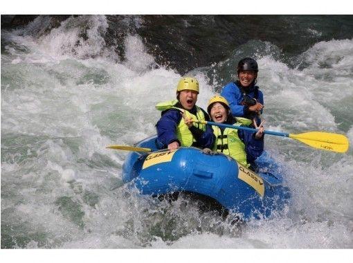 【北海道・日高でスリル満点ミニラフティング】鵡川or沙流川半日コースの紹介画像