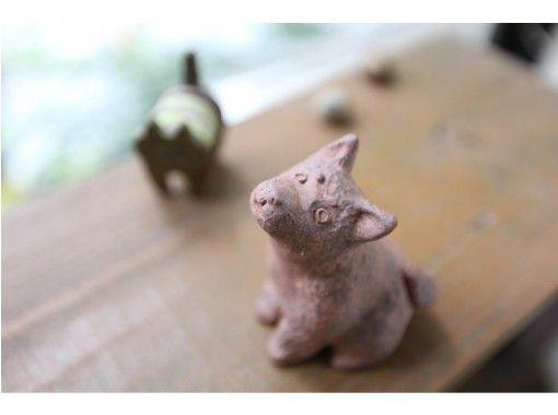 【福岡天神】シーサーづくり陶芸体験☆ハニワや動物も自由に形作れる♪オブジェ一日体験☆の紹介画像