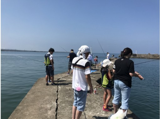 """[Fukui ・ Sangoku] """"Sea fishing experience class"""" complete Empty-handed! With instructor!の紹介画像"""