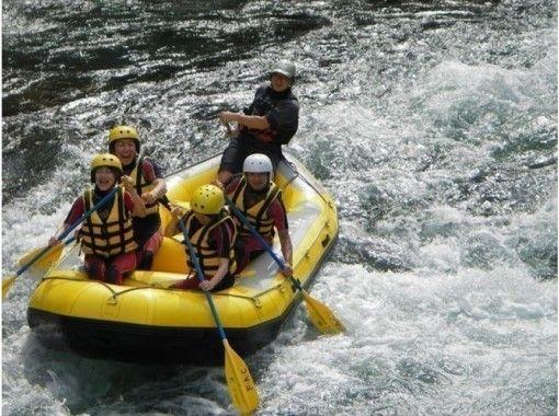 Kawaguchiko Station set / Katsura River Rafting half-day experience long course / person per night 6300 yen~ elementary school three Year participation from students OKの紹介画像