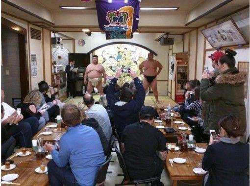 【東京・両国】相撲デモンストレーション&ちゃんこ鍋 + ジンギスカン焼肉ランチ(毎週木曜日)