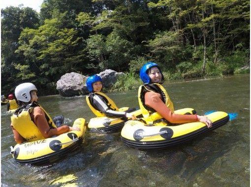 【東京・奥多摩】大自然を満喫!ハイドロスピード 半日コースの紹介画像