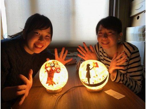 [Kyoto / Kamigyo Ward] Make original lights using Japanese paper! (Washi Akari Handmade Experience) Standard Courseの紹介画像