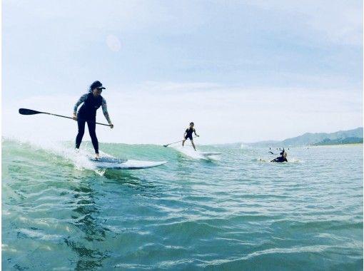 【宮崎県・宮崎市】南国宮崎の海で人気のSUPクルージング体験!  レンタル・保険込・120分の紹介画像