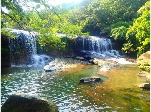"""[西表岛/半天] ⑥ 前往""""桑加拉瀑布""""!在世界遗产西表岛可以选择的SU或独木舟和徒步旅行[照片数据免费]の紹介画像"""
