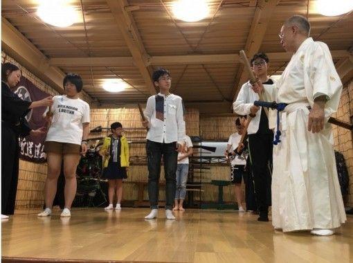 [Osaka Kyobashi] Japanese sword cutting experience! Japan Culture Experience feel samurai (feel free plan)の紹介画像