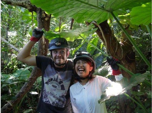 【沖縄・西表島】【半日】大自然のアスレチック!西表島鍾乳洞探検【写真データ無料】