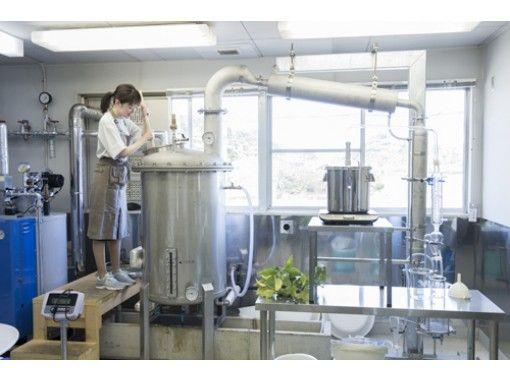アロマオイル5mlのお土産付き!見て学べる天然アロマオイル工場見学プラン