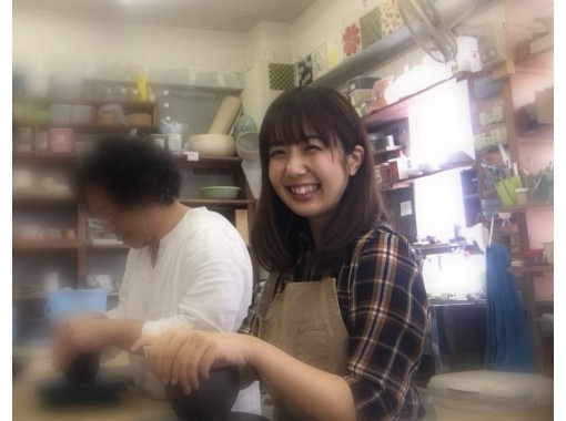 【大阪・心斎橋駅】陶芸手びねり!お手軽プラン(茶碗、湯呑み、カップ)選べる色は16種!