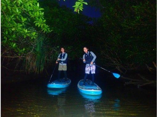[Ishigaki Island / Night] A new sensation adventure to enjoy the night on the island! Starry Sky & Knight Mangrove SUPor Canoe [Photo data free]の紹介画像