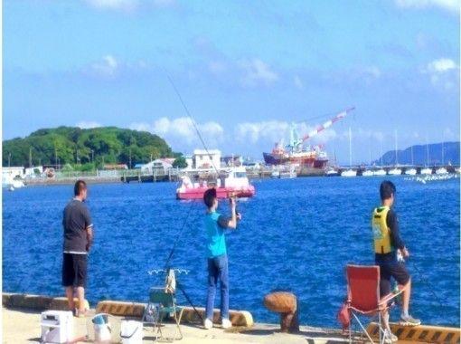 【千葉・南房総・館山】手ぶらでOK!海釣り体験@レンタル釣り竿!初心者&お子様大歓迎♪/90分コース