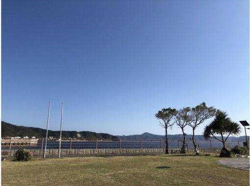 【奄美大島・瀬戸内町古仁屋】海の見える公園でYOGA!