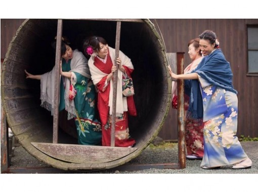【熊本・山鹿】アンティーク着物レンタル・町並み散策プラン(3時間散策)