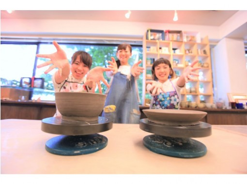[Tokyo Ginza] You can choose from mugs, bowls, pasta plates, and platters ♪ Lessons you want to make ceramics ☆の紹介画像