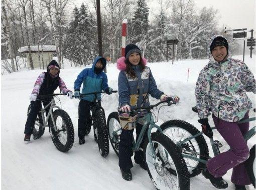 札幌市郊,狗拉雪橇,雪上徒步,胖子自行車,新日本三大夜景,溫泉,北海道冬季計劃の紹介画像
