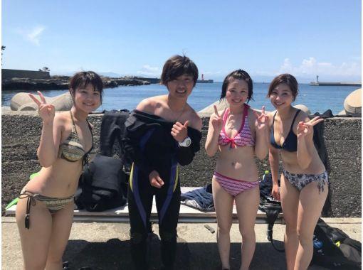 まずは挑戦!気軽に体験ダイビング!!思い出作りにも!!