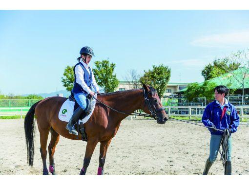 【三重・伊賀・青山】初めてでも安心!マンツーマンで乗馬体験の紹介画像