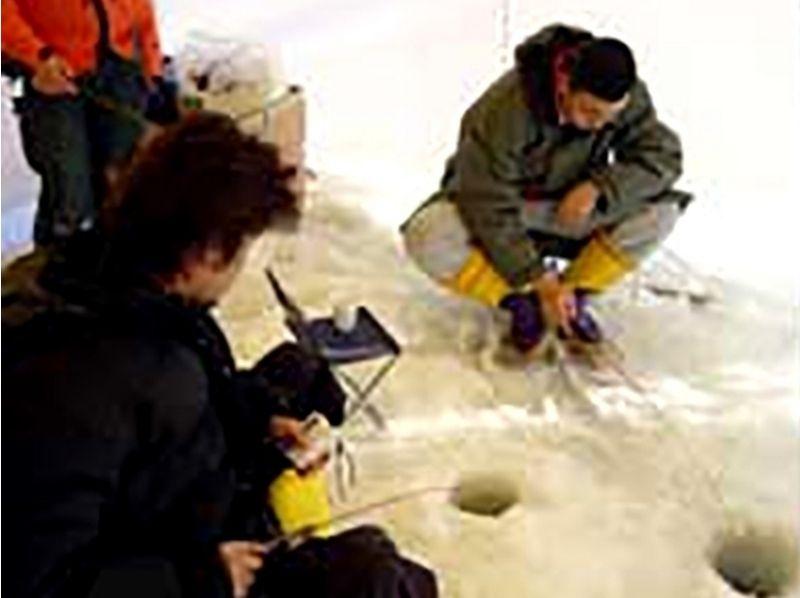 【北海道・網走】タルタルーガ☆わかさぎ釣りの紹介画像