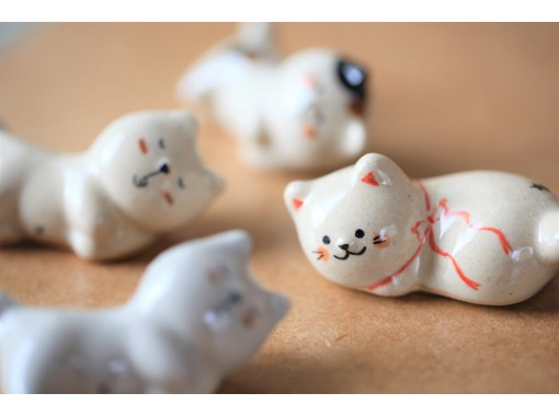 [Nagoya Sakae] A chance to choose from a bean plate hand-kneading or a cat chopstick rest ☆ Make today a wonderful day ♪の紹介画像