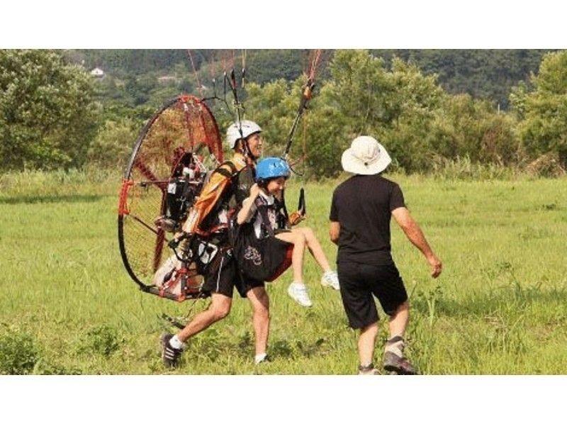 【仙台でパラグライダー】2人乗り体験の紹介画像