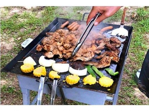【沖縄・本部町】 【恋人ビーチうふた浜】 BBQ満腹プラン  鶏、豚、牛の盛り合わせ!