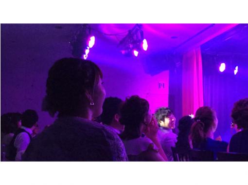 【大阪・梅田】本格的なマジックショーを堪能「イリュージョンシアター」(90分飲み放題つき)JR大阪駅・梅田駅から10分!