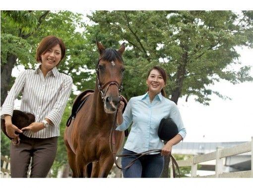 【三重・桑名・長島スポーツランド】初めてでも安心!マンツーマンで乗馬体験(送迎あり)