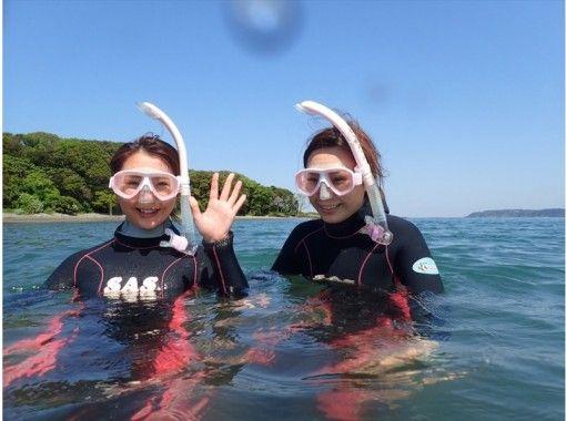 【千葉・沖ノ島】館山の海を満喫!スキンダイビング体験